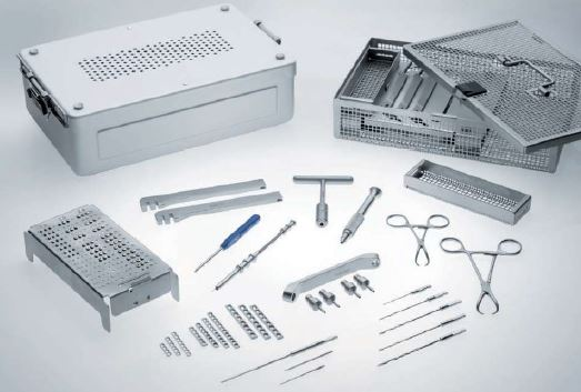 Aesculap Orthopaedic Kit - 1 5mm 2 0mm 2 4mm - Plates