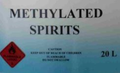 Methylated Spirits 20L buy now from GVP Australia